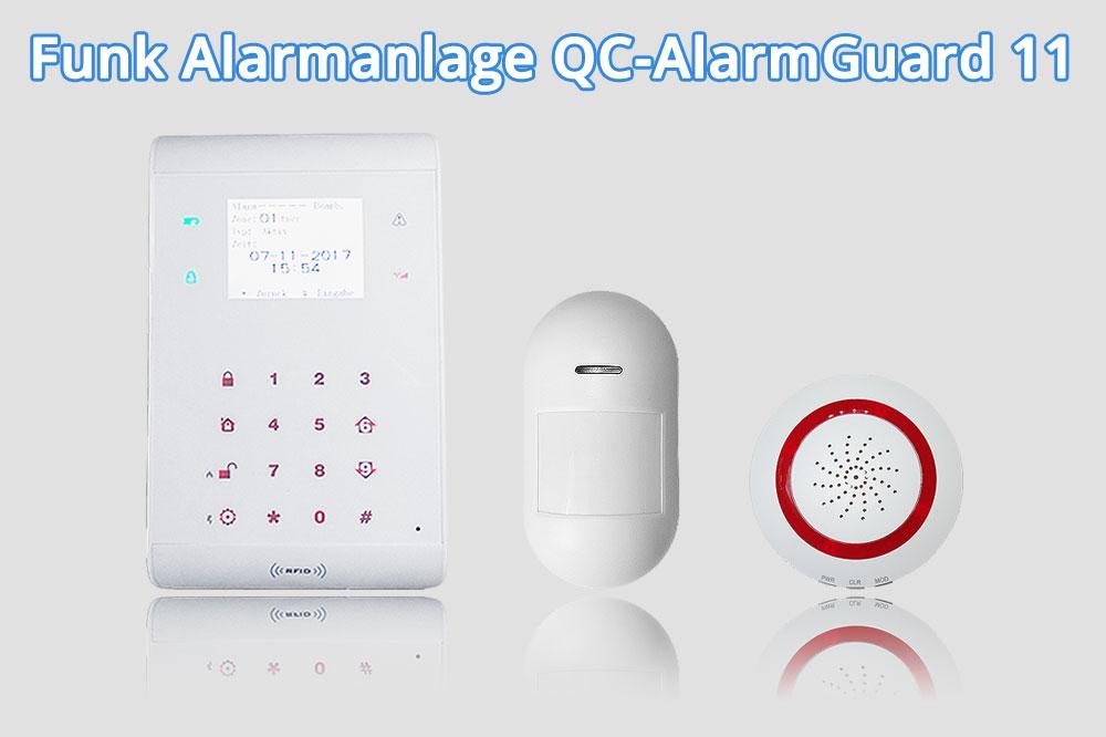 Sim Karte Für Alarmanlage.Funk Alarmanlage Qc Alarmguard11 Qualicam Blog