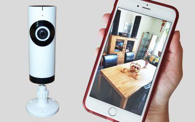Verlosung einer Smarthome Kamera bei Facebook