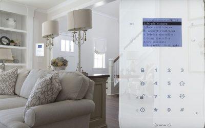 Alarmzentrale für die Hausüberwachung