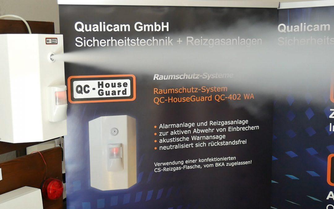 Aktiver Einbruchschutz mit Reizgas
