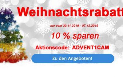Weihnachtsrabatte im Dezember